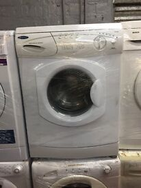 nice white hotpoint washing machine 6kg 1000 spin in excellent condition in full working order