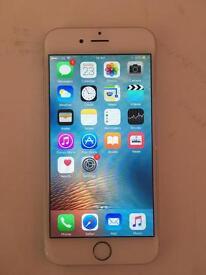 Apple iPhone 6 silver 64gb unlocked