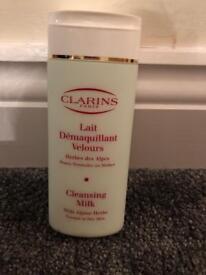 Clairns cleansing milk, brand new, unused