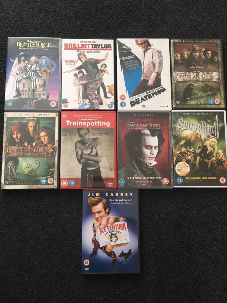Dvd movie bundle
