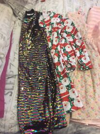Girls clothes bundle age 13-14 some next M&s 12 items