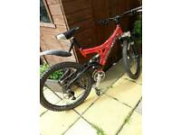 Baracuda bike disc brakes 26inch wheels good condition slatyford Newcastle