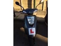 Good condition Yamaha 125cc Moped - Great commuter/first bike option!