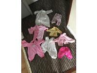 "Dolls clothes to suit 16"" & 18"" dolls"