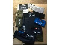 Hugo boss kids t shirt shorts set