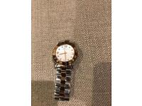 Marc Jacobs Woman's rose gold & silver watch - Excellent condition