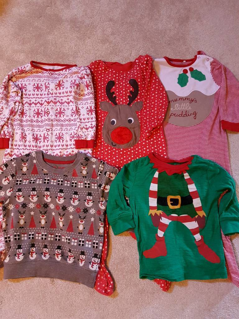 Christmas clothes age 9-12 months