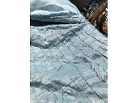 King size duck egg John Lewis bed throw
