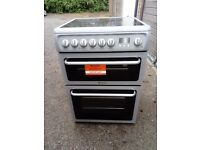 Cooker electric, ceramic top, 60cm hotpoint