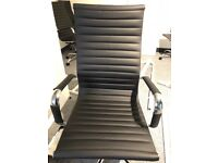 Never Used Before/Ribbed Office Chairs For Sale