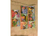 8 Dora the explorer paperback books for children , perfect for a fan of Dora! good condition