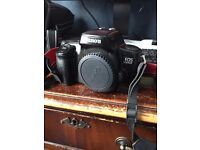 Canon EOS 1000F 35mm Camera Body with two batteries