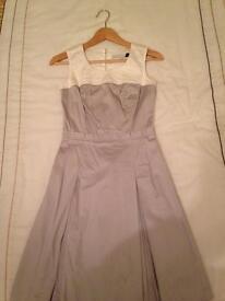 Jonathan Saunders Designer Dress Grey size 8