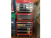 Halfords Professional tool chest roll cab set