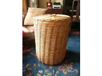 Huge Large Wicker Laundry Log Basket Storage