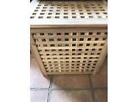 Wooden Laundry Basket box