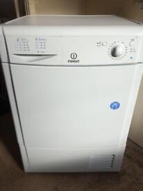 Indesit 8kg condenser tumble dryer