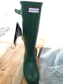 New Hunter wellies