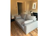 Next stone coloured Sofa Bed