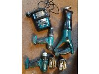 Power tools drills etc