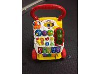 £3 - VTech First steps baby walker