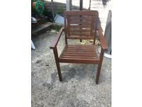 Chair wooden good condition