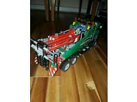 Lego Technic 42008 Large Pick up Truck with Lights and Battery operated Motorised pully system