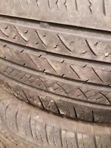 4 pneus d'été Antares, Control AS, LT245/75/16, 60% d'usure, mesure 5/32.