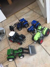 5 large tractors very good condition