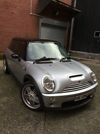 Low mileage Mini Cooper S R53, chilli pack, full service history and looked after by a specialist