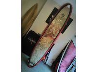 "9' 2"" Circle One Longboard Surfboard"