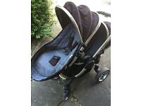 Icandy double pushchair##£300##