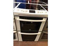 55CM WHITE ZANUSSI ELECTRIC COOKER