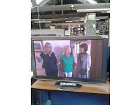 "Panasonic 42"" Plasma TV, with freeview, 3 month warranty"