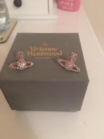 Vivienne Westwood earrings (Genuine)