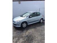 Peugeot 206 1.4 Verve HDi 06 Reg £30 Road Tax *Good mileage.*