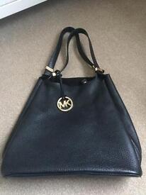Michael Kors leather tote.