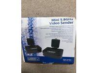Nikkai mini video sender unit only £10 as new.