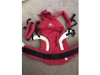Red manduca Baby/ toddler carrier