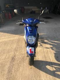 Sym symply 50 cc scooter with only 241 miles on the clock