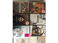 Selection of 6 sealed DVD 's open to offers