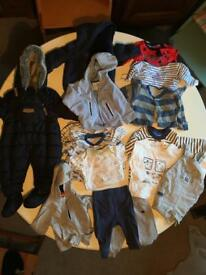 Baby boy clothes bundle 0- 6 months