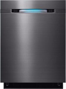 Lave-vaisselle encastrable Acier inoxidable Noir Samsung ( DW80J7550UG )