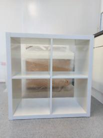 IKEA KALLAX - High Gloss Shelf Unit