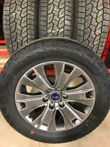TRAX 0894 ) 4- NEW TAKEOFF TAKE OFF 2017 F150 SPECIAL    ED RIMS AND TIRES $1700 firm