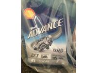 SHELL ADVANCE AX7 SAE 10W40 SEMI SYNTHETIC ENGINE OIL