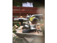 evelution 3 sliding chop saw