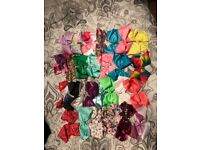 38 jojo bows and 1 jojo headband . Each one Hardly Used and immaculate condition