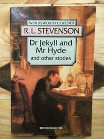 DR. JEKYLL AND MR. HYDE & OTHER STORIES by Robert Louis Stevenson (R.L. Stevenson)