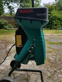 Bosch 2000hp shredder